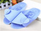 Care Massage Slippers Reversible Folding Non-Slip PVC