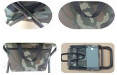 Folding Pocket Army Chair Durable and Lightweight Design
