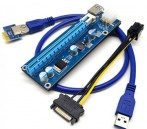 PCI-E Riser 1x-16x USB to PCI High Quality Graphics Mining
