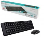 Logitech MK220 2.4GHz Wireless Keyboard Mouse Combo Set