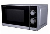 Sharp R-20A0WV 20L Stainless Steel 900W Microwave Oven