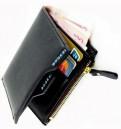 Bogesi Men Casual Black Genuine Leather Wallet