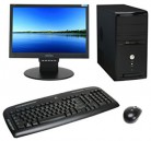 Desktop Core 2 Duo 250GB HDD 2GB RAM 17