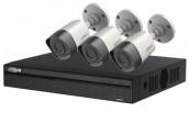 CCTV Package Dahua 4CH DVR 2Pcs Camera 1TB HDD