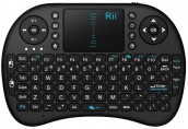 Rii i8 92 Keys 2.4 Ghz Smart TouchPad Wireless Mini Keyboard