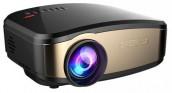 Cheerlux C6 Mini LED 1200 Lumens Wireless TV Projector