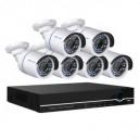 CCTV Package Hikvision DVR 8CH 6-Pcs 2MP Camera 19