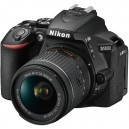 Nikon D5600 Touch Screen DSLR Camera with 18-55mm VR Lens