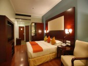 Double Bed Room at Venture Park 3 Star Hotel In Chennai