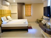 Double Bed Room at FabHotel Ratnakar Residency in Kolkata
