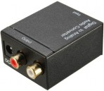 Coaxial / Toslink Digital to Analog Audio Signal Converter