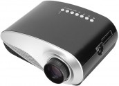Excelvan RD802 60 Lumens Mini LED Projector with TV Card