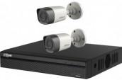 Package CCTV Dahua 4 Channel DVR 2 Pcs Full HD Camera