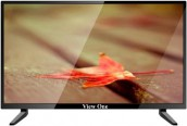 """View One 24"""" Flat Digital TV Tuner Full HD LED Television"""