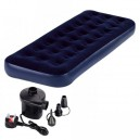 Jilong Single Air Bed with Electric Air Pumper