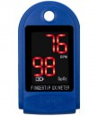 Portable Fingertip Pulse Oximeter with LED Display