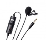 Boya BY-M1 High Quality Omnidirectional Lavalier Microphone