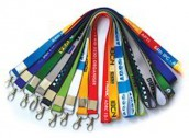Nylon and Polyster Digital Printed ID Card Lanyard
