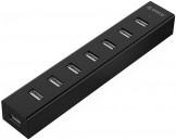 Orico H7013-U2-03-BK/GY Hi-Speed 7 Port USB Hub