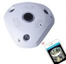 Panoramic Fisheye 360 Degree 3D WiFi Camera
