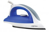 Astra DEIT-1A10BU Dry Nonstick Rubber Handle Iron