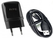 HTC Mobile Charger with Data Cable / Headphone