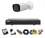 CCTV Package Dahua 4 Channel DVR 1-Pcs Camera 320GB HDD