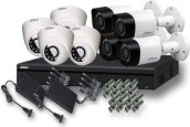 CCTV Package Dahua 8 Channel DVR 8-Pcs Camera 1TB HDD