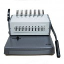 Pantone 2088C 21 Hole Manual Punch Spiral Binding Machine