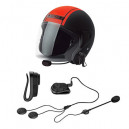 Roman M2 Motorcycle Helmet with Stereo Bluetooth Headset