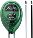 TTVXO 111 3-Way Greenhouse Soil pH Meter Moisture Detection