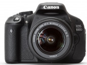 Canon EOS 600D with 18-55mm Kit Lens