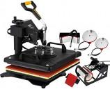Combo 5-in-1 Multi Functional Heat Press Machine