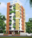 Taspia 1068 Sqft South Facing Flat at Banasree