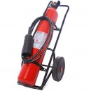 Fire Extinguisher-CO2 (25kg with Trolley)