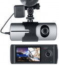 Dual Car Camera DVR R300 with GPS and 3D G-Sensor