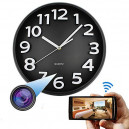 Quartz Wall Clock WiFi Hidden Spy Camera