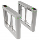 RFID Dual Lane Swing Turnstile Gate