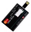 Visa Card Shape 64GB Pendrive
