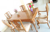 CTG Dining Table with 6 Chair