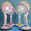 Portable 2-in-1 Rechargeable Cooling Fan