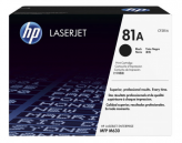 HP 81A Original Black LaserJet Toner Cartridge