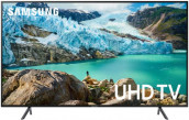 "Samsung RU7100 Series 7 43"" Flat 4K UHD Smart TV"
