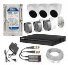 CCTV Package 8-CH Dahua XVR 6-Pcs Camera 500GB HDD