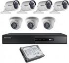 CCTV Package 8CH DVR 7-Camera 19