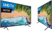 """Samsung NU7100 55"""" 4K LED Wi-Fi Slim Smart Television"""