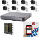 CCTV Package 8CH DVR 8PCS Camera 16