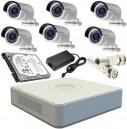 CCTV Package 8CH DVR 6 Piece Camera 19