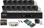 CCTV Package 16CH DVR 14-Piece Camera 32