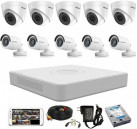 CCTV Package Hikvision 16CH DVR and 10PCS Camera